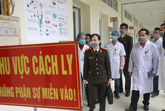 Kiểm tra công tác chuẩn bị ứng phó với dịch virus Corona tại bệnh viện 19-8