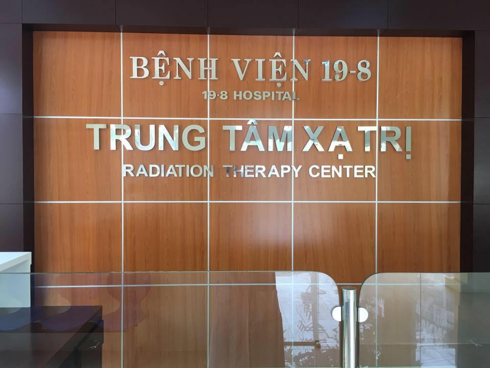 Bệnh viện 19-8 sử dụng xạ trị VMAT trên bệnh nhân ung thư hốc mũi