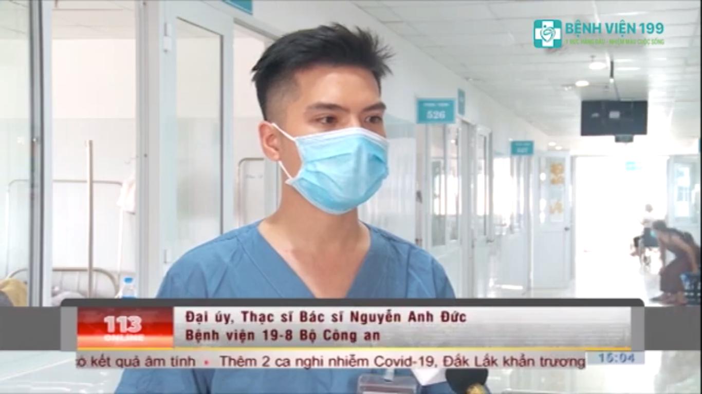 Tin vui: Đoàn chuyên gia từ Bệnh viện 19-8 đến Bệnh viện 199 hỗ trợ chuyên môn