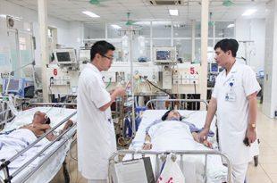 Cán bộ chiến sĩ Bệnh viện 19-8 túc trực ngày tết bảo đảm sức khoẻ cho người dân