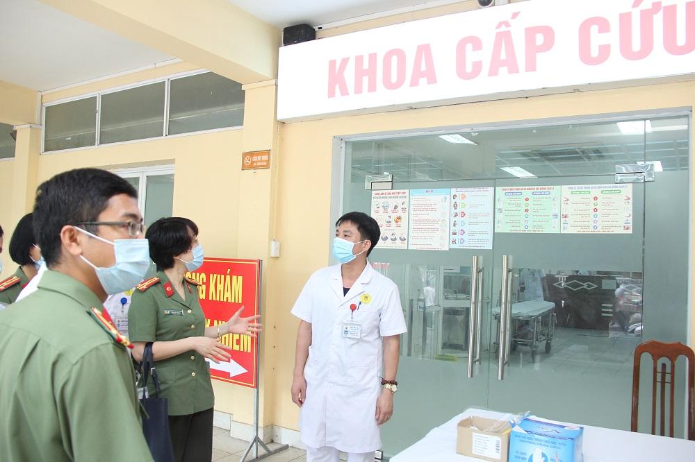 Các cơ sở y tế Công an nhân dân luôn sẵn sàng, chủ động trong công tác phòng, chống dịch Covid-19