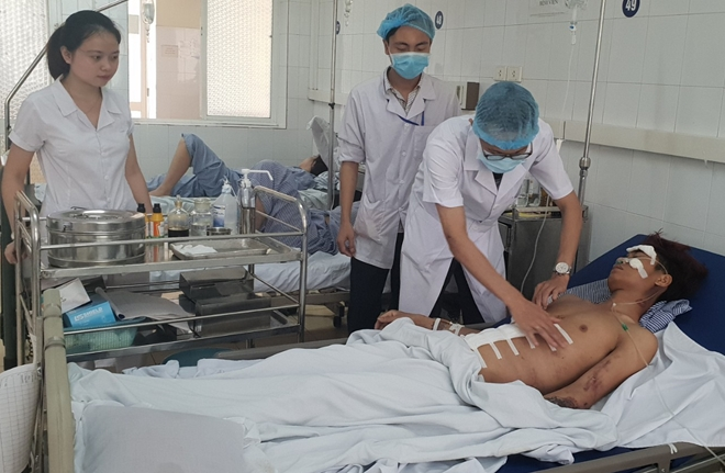 Bệnh viện 19-8 cứu sống hai bệnh nhân trong tình trạng nguy kịch